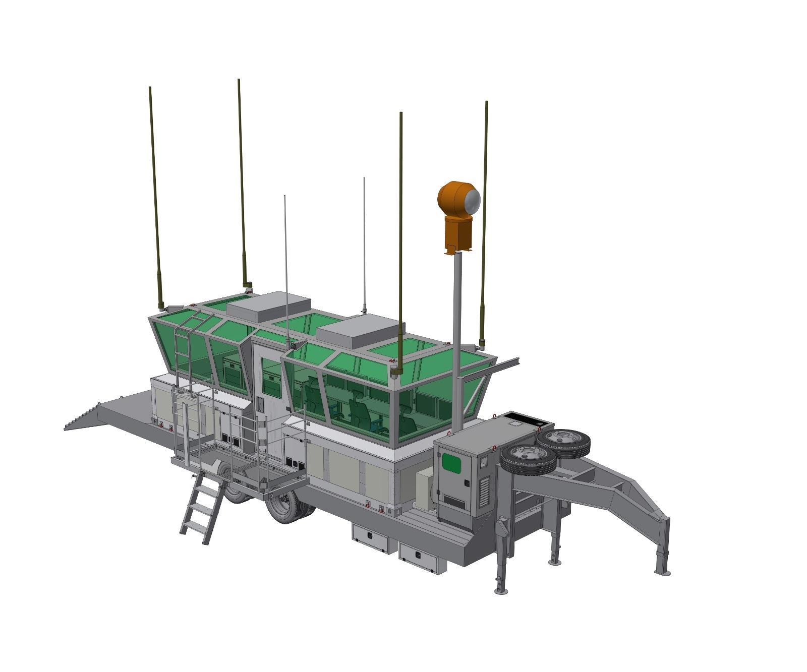 Mobile Modular Tower